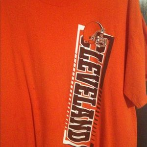 Cleveland brown tee shirt